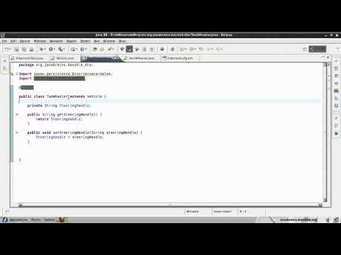 Hibernate Tutorial 19 - Implementing Inheritance With Table Per Class Strategy
