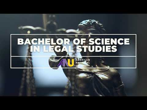 Bachelor of Science in Legal Studies at American National University
