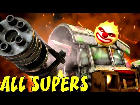PlayStation All-Stars Battle Royale - All Super Attacks (1080p/60fps)