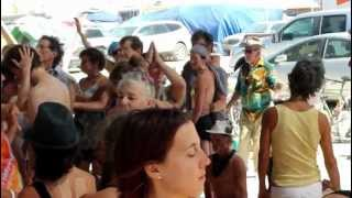 Burning Man - Morning Sweat at RhythmWave Camp 8/31/12 V