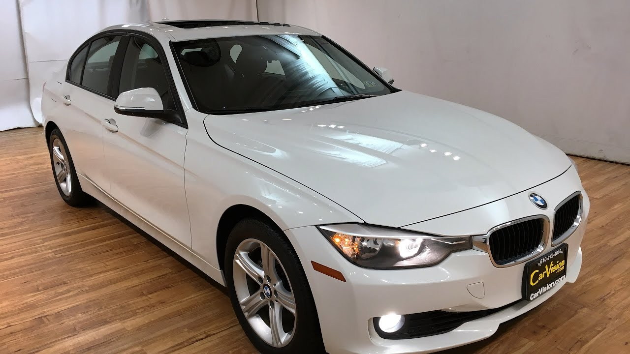 2013 bmw 3 series 328i xdrive awd media screen sunroof carvision youtube. Black Bedroom Furniture Sets. Home Design Ideas