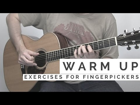 4 Fingerpicking Exercises for an Effective Warm Up Routine | Tuesday Blues #133
