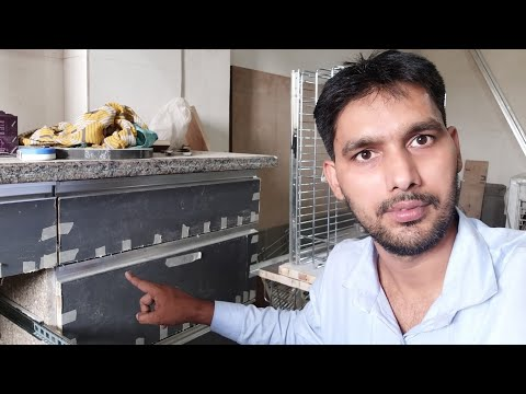 Kitchen में G-Profile हैंडल कैसे Fitting करते हैं ? How to Fitting G-Profile Handle Wardrobe TV Unit
