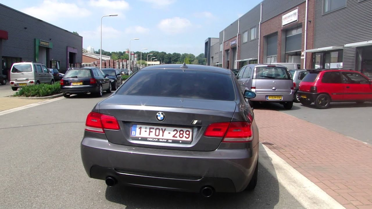 bmw e92 coupe 320d diesel 335d look exhaust sportuitlaat uitlaat by maxiperformance nl youtube. Black Bedroom Furniture Sets. Home Design Ideas