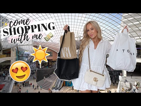 COME SHOPPING WITH ME SUMMER 2019 | ZARA, TOPSHOP, H&M HAUL