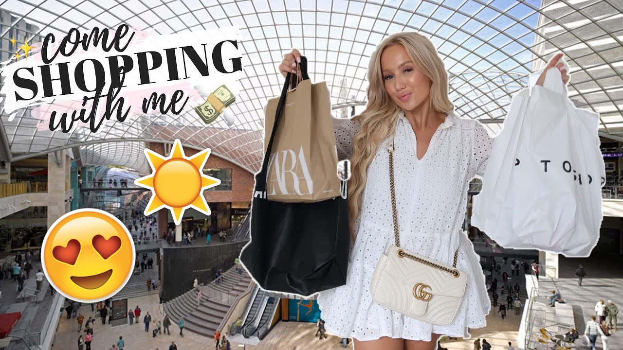 3f03f47621 COME SHOPPING WITH ME SUMMER 2019 | ZARA, TOPSHOP, H&M HAUL – Shopping time