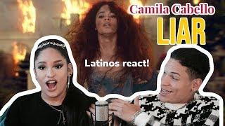 LATINOS REACT to Camila Cabello LIAR | Reaction Video