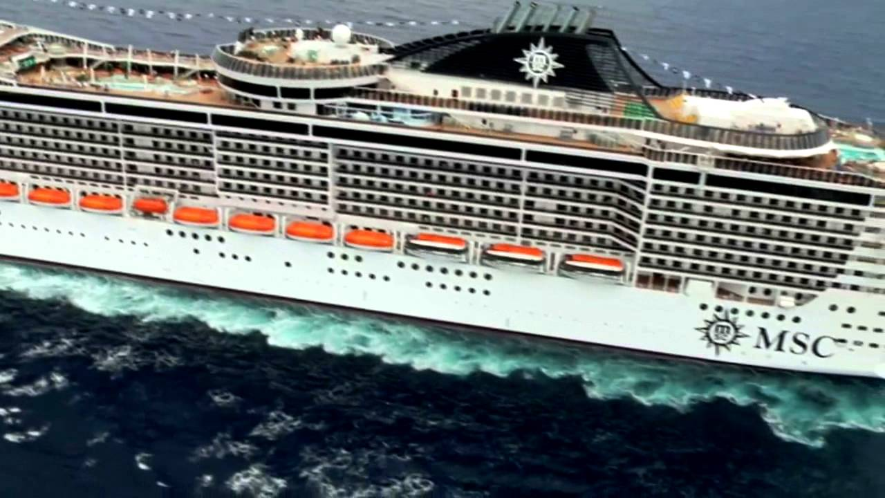 MSC Splendida And MSC Fantasia In Palma De Mallorca - YouTube