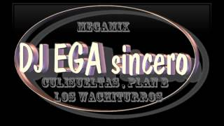 DJ EGA (sincero) - MEGAMIX - CULISUELTAS , PLAN B , LOS WACHITURROS