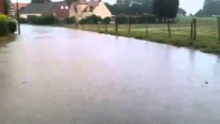 Inondation à Villers-Brûlin (62)