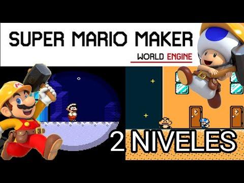 SMMWE - mis 2 niveles - Súper Mario Maker World Engine 2.0.0 B1 descargas