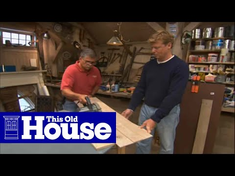 How To Make A Circular Saw Guide This Old House Youtube