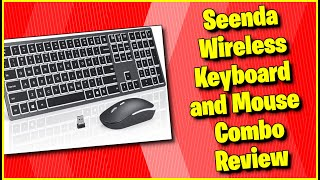 Best Budget Mouse Keyboard Combo? | Seenda Wireless Keyboard and Mouse Combo Review || MumblesVideos