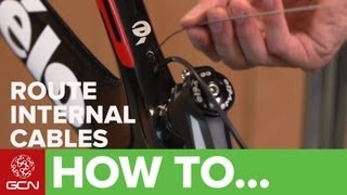 How To Fit Internal Cables On A Road Bike
