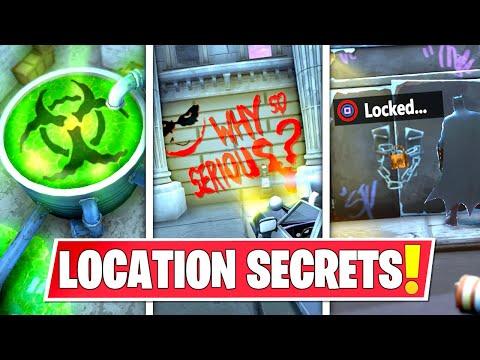 *NEW* SECRET LOCATION CHANGES THAT *EVERYONE MISSED* IN BATMAN GOTHAM CITY! LOCK DOOR, JOKER & MORE!