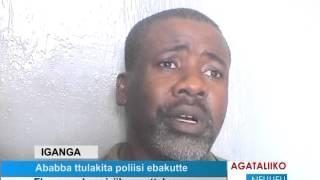 Ababba ttulakita Poliisi ebakutte