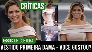 Gostou? Mal costurado? Valorize as costureiras - Vestido primeira dama   Alana Santos Blogger