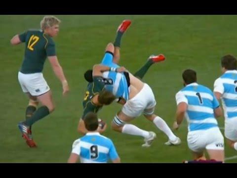 Les 10 plus gros plaquages du rugby !