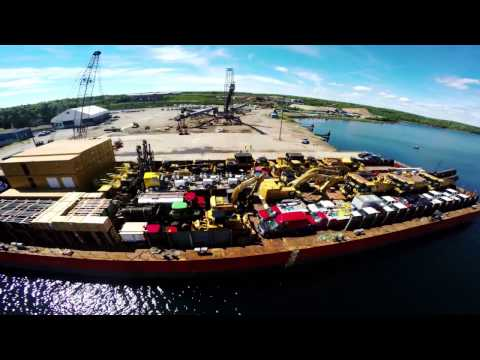 Municipal Group / Dexter Construction - Barge Load
