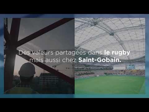 Saint-Gobain équipe des stades de la Coupe du Monde de rugby au Japon : video