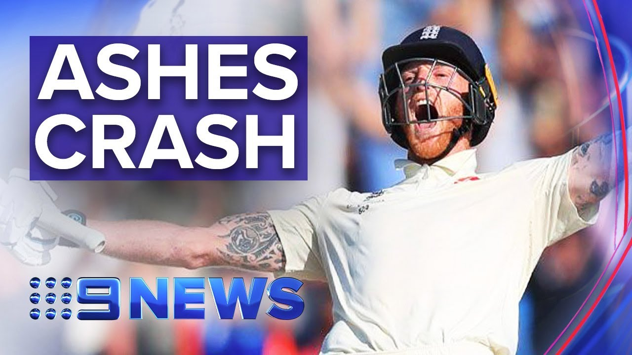 Stokes leads England to miracle third Ashes Test win | Nine News Australia