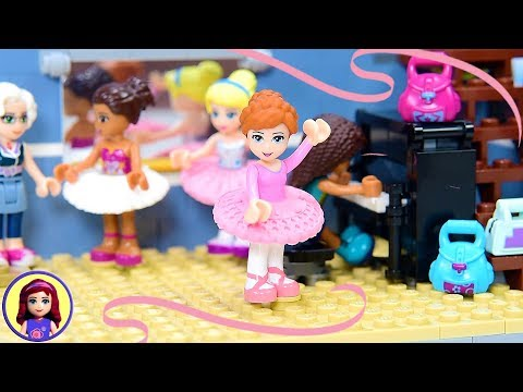 How to make a ballet tutu for your Lego minidoll Super EASY DIY Craft