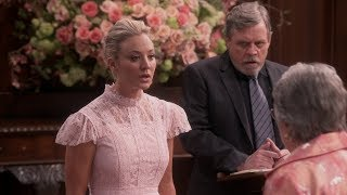 the big bang theory luke skywalker performs the wedding ceremony for sheldon and amy cooper
