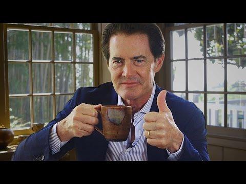 Kyle MacLachlan Enjoys a Damn Good Cup of Coffee // Omaze