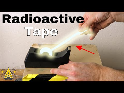 Is Scotch Tape Radioactive? Making X-rays From Tape—Triboluminescence in a Vacuum Chamber