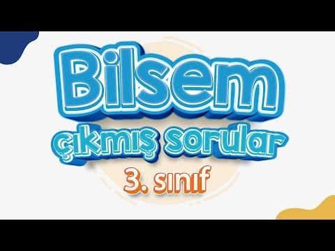 Bilsem Sınavı 3.Sınıf B Kitapcığı Genel Yetenek 3. Soru Cevabı
