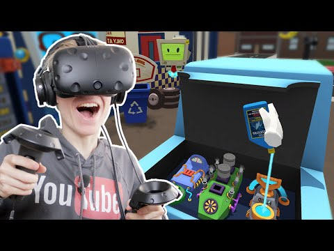 CAR REPAIR IN VIRTUAL REALITY!  | Job Simulator: Auto Mechanic (HTC Vive Gameplay)
