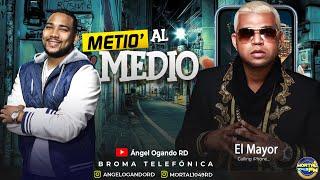 EL Mayor tiene que darme 100 Mil pesos - Metio al Medio (Broma Telefónica )
