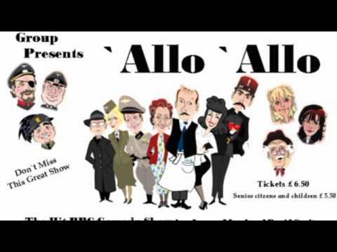 Allo Allo 2012 stage show