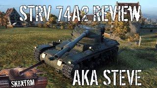 Swedish Stridsvagn - STRV 74A2 aka STEVE - Wot Blitz