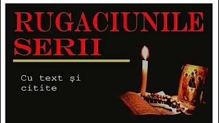 Rugăciunile de seară cu text și citite, fără reclame, complet