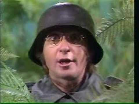 Sesame Street -  Arte Johnson's lecture on Q and U