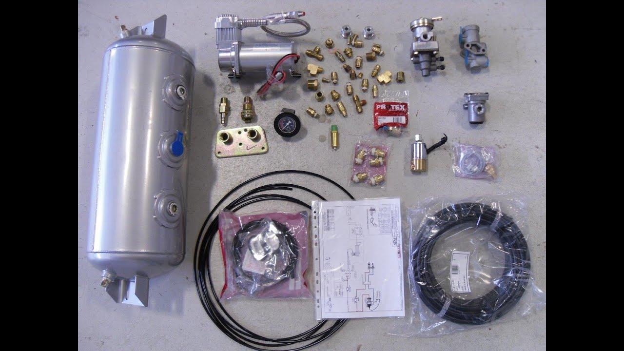 Air Hydraulic Trailer Brake Kit Australia Youtube Electric Over Brakes Wiring Diagram