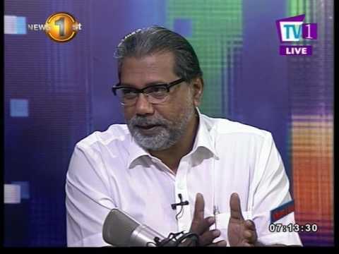 News 1st : NewsLine with Faraz Shauketaly and Vidura Wickramanayake (UPFA MP)
