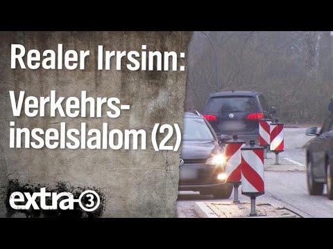 Realer Irrsinn: Verkehrsinsel-Slalom in Volksdorf (Teil 2) | extra 3 | NDR
