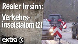 Realer Irrsinn: Verkehrsinsel-Slalom in Volksdorf (Teil 2)