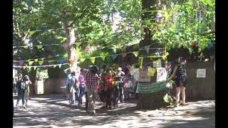 STAG Protest Party at Chelsea Road Elm Tree Sheffield, ITV Calendar News