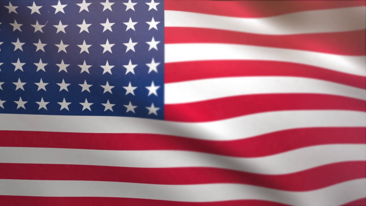 USA Flag Waving Animated Using MIR Plug In After Effects