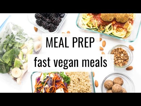 2. VEGAN MEAL PREP | fast & easy recipes