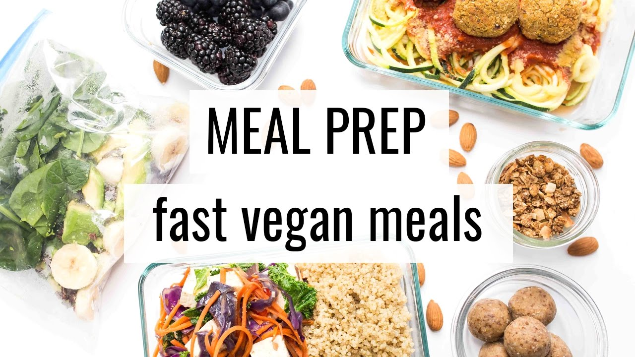 2 vegan meal prep fast easy recipes youtube vegan meal prep fast easy recipes forumfinder Gallery