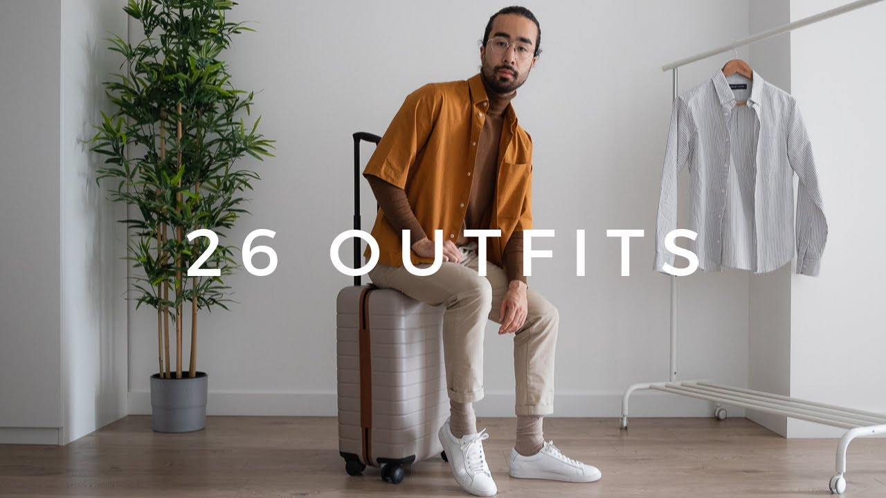 [VIDEO] - 26 Outfits From A Carry-On Suitcase 8