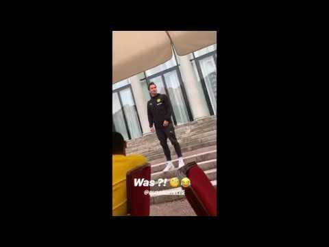 BVB-Neuzugänge singen zum Einstand in Bad Ragaz