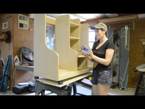 Diy Golf Bag Organizer April Wilkerson Youtube