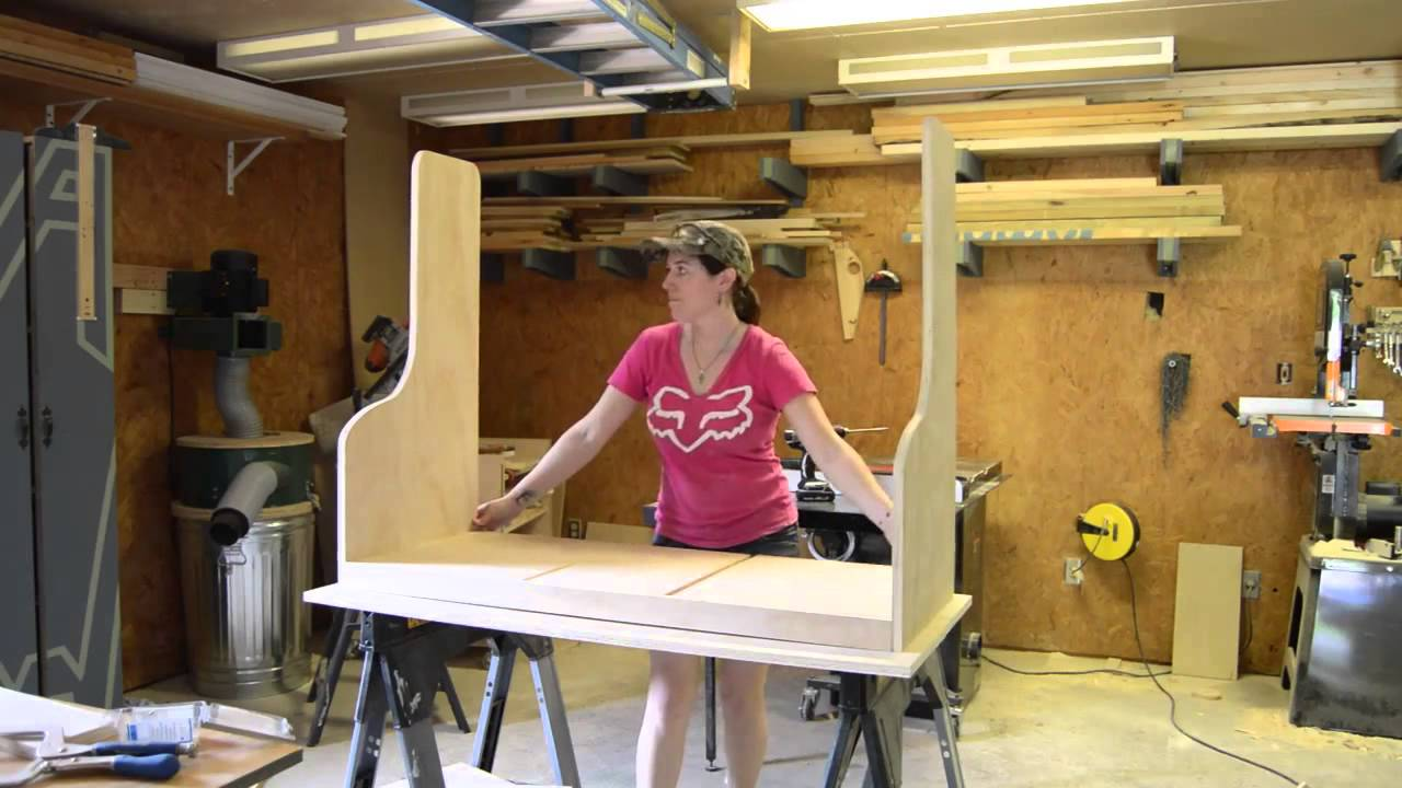 Diy Wood Shelves Garage