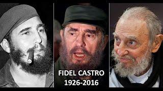 ULTIMA HORA: MUERE FIDEL CASTRO 1926-2016