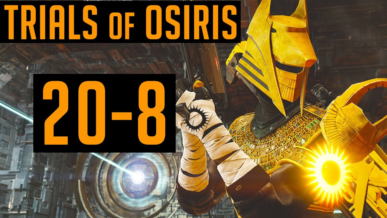 Destiny Trials of Osiris Double Carry #1 - YouTube